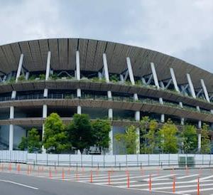 国立競技場の現在(いま)