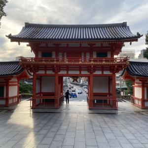 八坂神社・西楼門・夕景