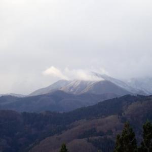 越前甲、加賀大日は雪。