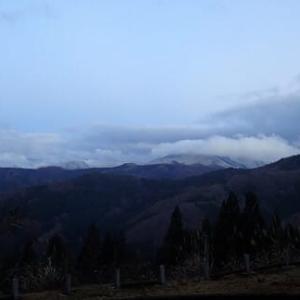 今朝は900メートルまで白くなりました。