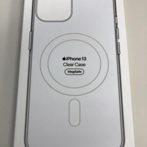 iPhone13が届きました・・・ケースだけ