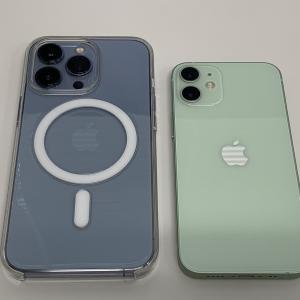 iPhone13Pro、落としそうで怖い