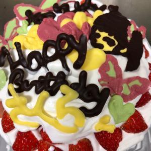 娘への愛、バースデーケーキ