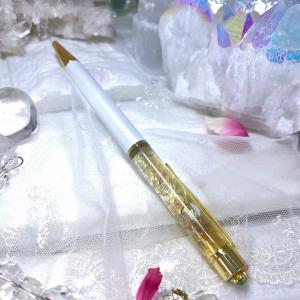 一本限り☆アンダラクリスタル♡マジカルブレンドオイルのハーバリウムボールペン