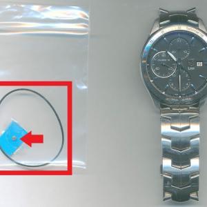 タグホイヤー(TAGHEUER/Ref.CAT2010)のオーバホール・パッキン交換・機止めネジ交換・プッシュボタン修理