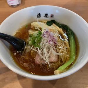 横浜市 藤花 醤油ワンタン麺1,080円