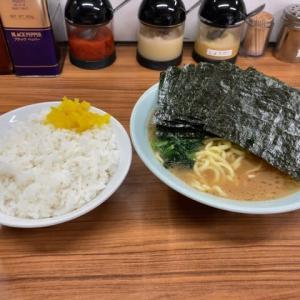 横浜市 近藤家 ラーメン+のり+ライス(並) 1,000円