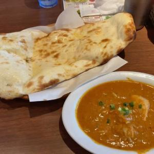 横浜市 マヤレストラン 日替わり ごぼうとチキンのカレー 890円