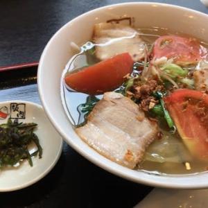 寒川町 坂内 青唐うま塩ラーメン 740円(クーポン利用) 3辛