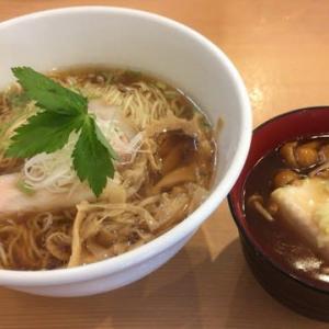 藤沢市 麺や一峯 醤油らぁ麺 750円+京風豆腐あんかけ飯 150円