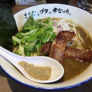 川崎市 さかなと豚で幸せになった。 煮干しらーめん 800円