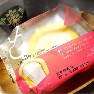 ロールケーキの日♪2倍のプレミアムロールケーキ(*´艸`)