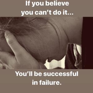 失敗することに成功する