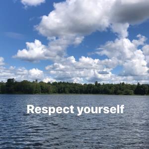 自分を尊重する