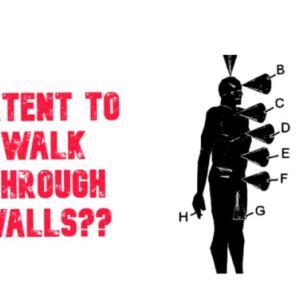 人が壁を通り抜ける方法の特許(権)が存在する! 特許#US20060014125A1