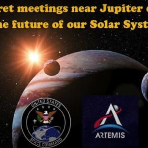 木星の近くで行われた太陽系の秘密会議で決定された内容ー サラ博士&エレナ・ダナン