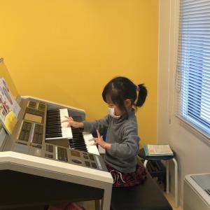 次女、ヤマハ幼児科クラス発表会2回目。