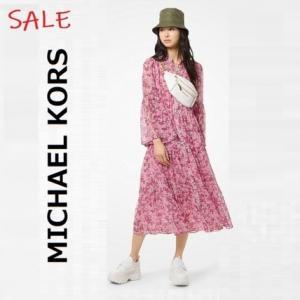 【セール】70%オフ!マイケルコース MICHAEL KORS フラワープリント ワンピース 12,800円