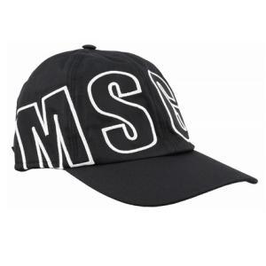 【VERY 9月号】MSGM どっちのカラーも欲しくなる!ロゴキャップ ブラック / ホワイト