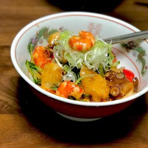 暑さ乗り切る冷たい海鮮ピピン麺