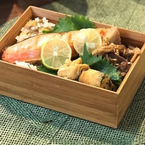 今年最初で最後の栗ご飯(秋の夜長に仕込んだもの)