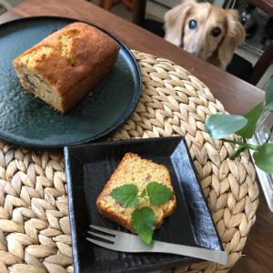 早朝に作った栗のパウンドケーキ(娘のランチ事情)