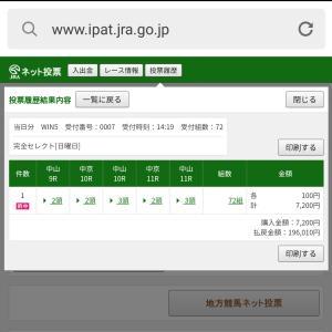 """9月26日(日)の結果:今日は""""くつろぎ""""の日"""