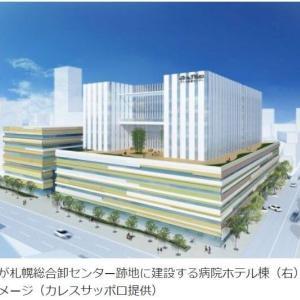 北6東3カレスサッポロ医療センター 札幌駅徒歩圏内に2024年開業予定