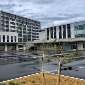 八軒の公務員宿舎跡で大規模宅地開発完了 景色の移り変わり