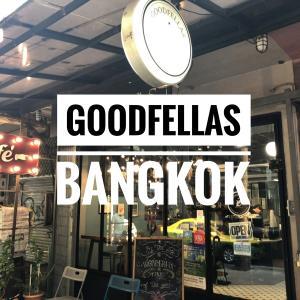ヘンリー・ヒルを探せ!トンロー駅前のカフェ「GOODFELLAS(グッドフェローズ)」@バンコク
