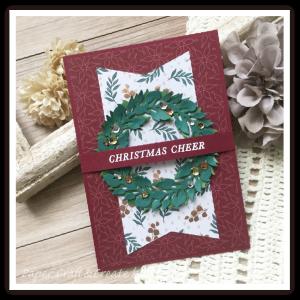去年のペーパーだけど、使っちゃう!大人のクリスマスカード!