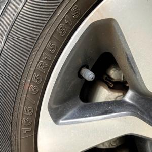 タイヤ交換とセブンティーンアイス