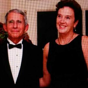 ファウチ博士の妻クリスチヌ・マックスウエル