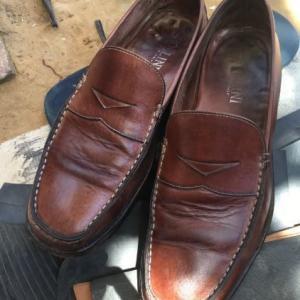 インドで靴を修理に出してみた