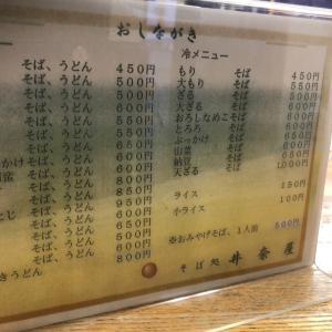 旭川最安値 そば処 井奈屋