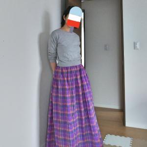 毎年ヘビロテのギャザースカート☆