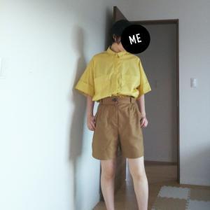 思ったよりシャツもポケットも大きかった