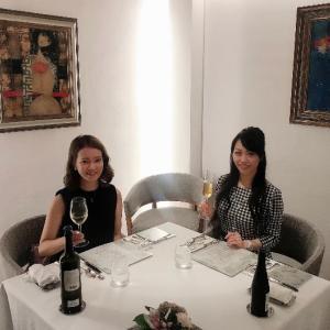 個人フランス料理テーブルマナー実践講習でした