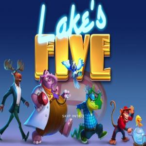 動物のスロットがかわいい!Lake's Five(レイクスファイブ)をやってみた