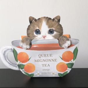 【クーミニョンティー】オレンジ紅茶☆