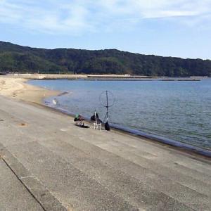 防府市富海海水浴場 QRP移動