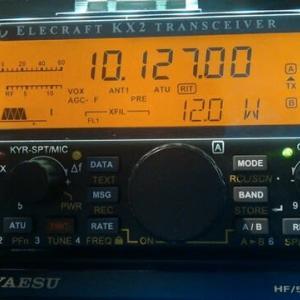 KX2 ファーム・アップデートで出力12Wに!