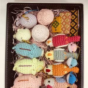 編みぐるみ詰め合わせ