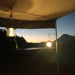 大分県志高湖キャンプ場で冬の熱々おでんキャン△