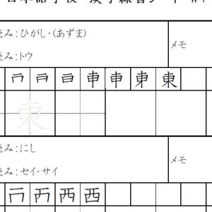 漢字 Kanji JLPT N5 Level with stroke order #4 on Youtube