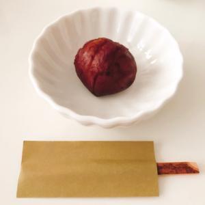 栗の渋皮煮と天ぷらパーティー