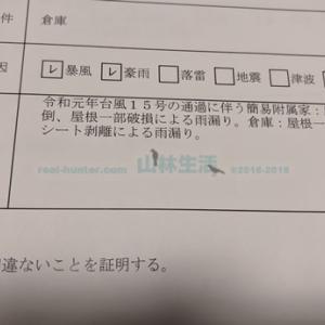 台風15号の罹災証明が届く。果たして支援は受けられるのか?