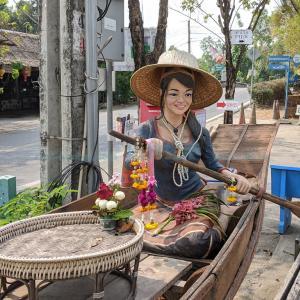 バンコク市内にある水上マーケットに行ってみた