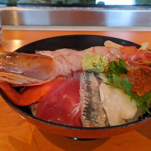 【海鮮丼】仙台市中央卸売市場で朝ご飯