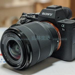 ミラーレスカメラα7IIが届いたので開封して設定をしてみる